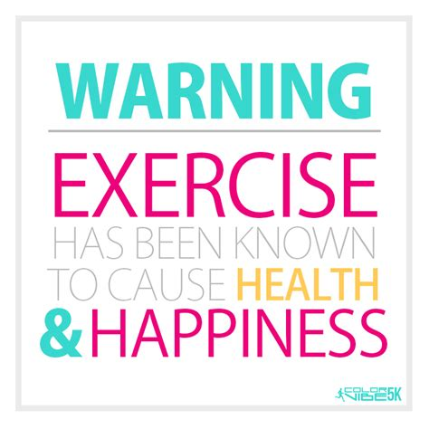 Exercising Has Never Been This Colourful exercise has been known to cause health happiness