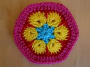 Crochet African Flower - african flower half hexagon archives crochetbug