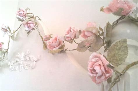 pale pink rose flower garlands sass amp belle wedding