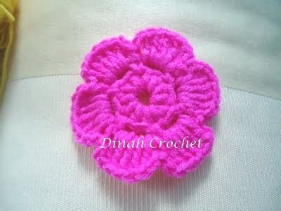 pattern mengait bunga dinah s crochet crochet flower and leaf patterns