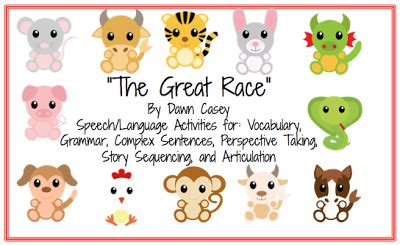 animals in new year race this week in speech the great race lunar new year
