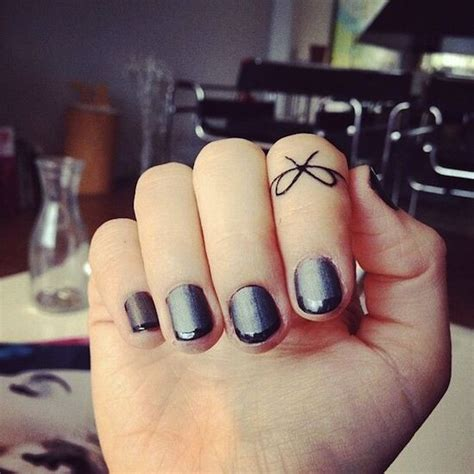 small finger tattoos for women bow on finger small tattoos design jaimie