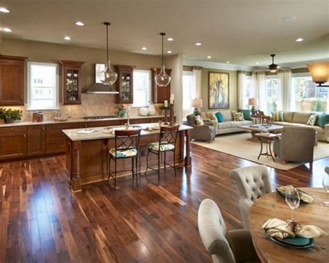 open living room  kitchen designs open concept kitchen