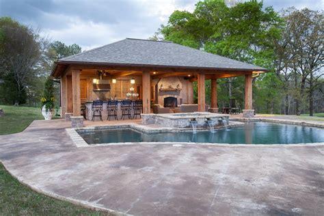 backyard cabana design landscaping network