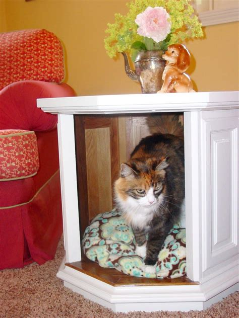 epic cat table 27 diy pet bed ideas for your inspiration interiorsherpa