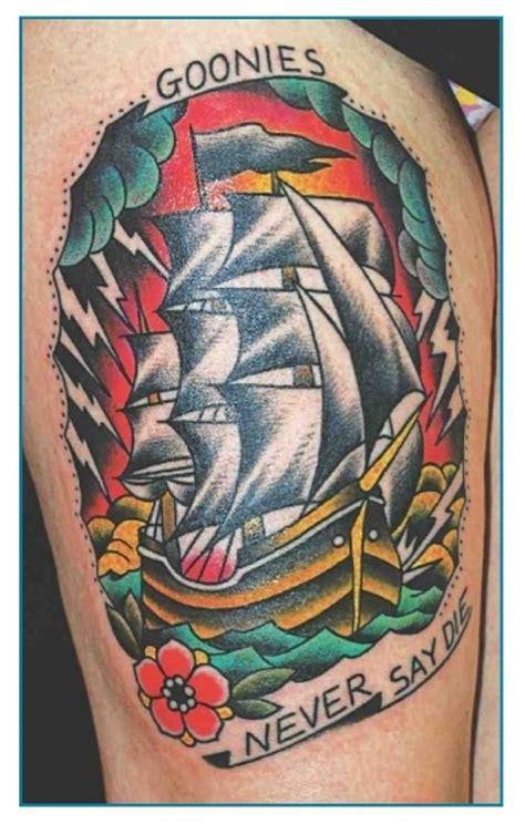 never say die tattoo 1000 images about tatted on goonies