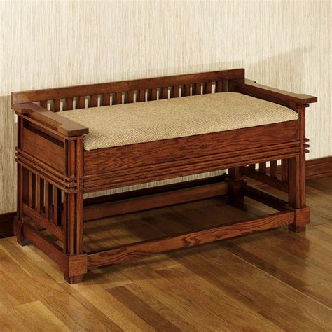 craftsman bench robie mission bench mission red oak mission arts
