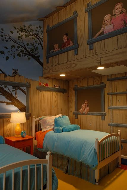 tree house bedroom tree house bedroom eclectic kids minneapolis by