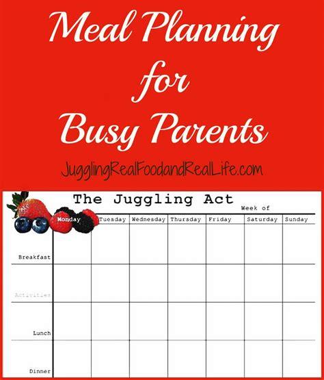 Meal Planning Calendar Online