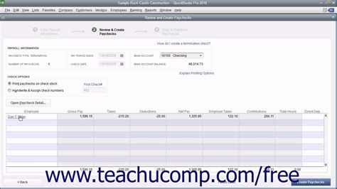 quickbooks tutorial youtube 2016 quickbooks pro 2016 tutorial creating termination