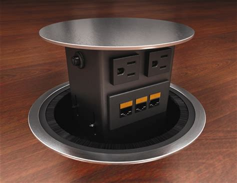 conference table electrical outlets discount office furniture conference table power module