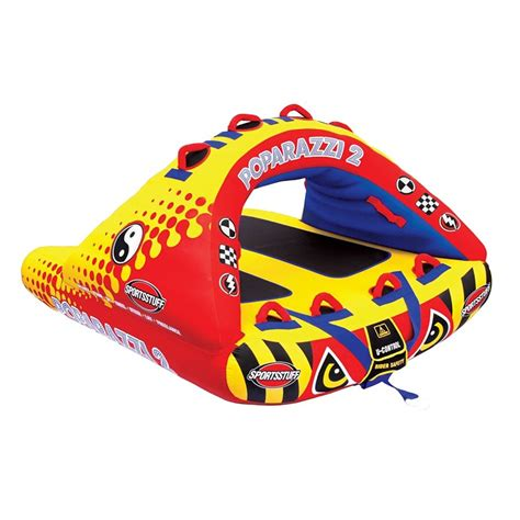 boat tubes airhead airhead poparazzi 2 inflatable water tube peter glenn