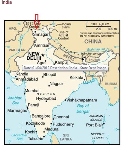 map usa to india us says it goofed up but still has wrong indian map on
