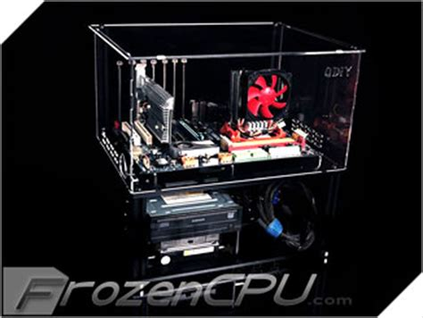 bench test motherboard qdiy professional modders acrylic micro atx atx motherboard test bench cover clear