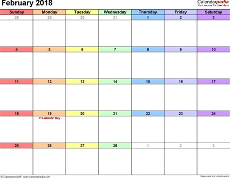Indesign Calendar Template 2017
