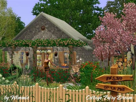Sims 3 Cottage by Wimmie S Cottage