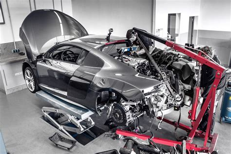 audi r8 v10 supercharged to 850 hp by mcchip dkr