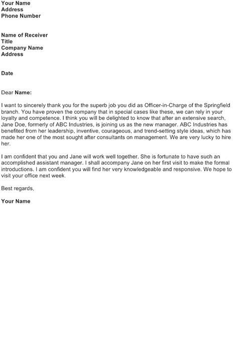 delegation letter sle sle business letters