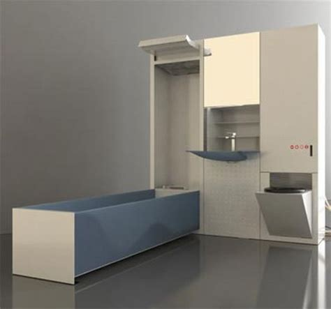 fold up bathtub cirrus mvr fold up your bathroom and hide it in the cupboard