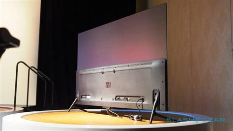 Tv Xiaomi xiaomi s mi tv 4 is stunning 4 9mm thick and you can t it slashgear