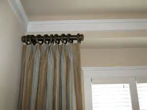 Hanging Curtains On Poles Designs Decorative Side Panel Curtain Rod Panels Is A Decorative Use Of Drapery Hardware For