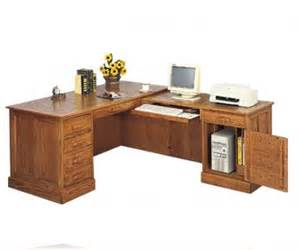 l shaped oak desk executive l shape oak desk l desks coaster 5308