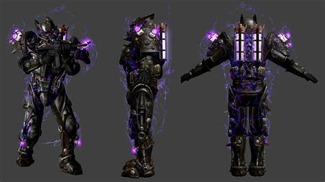 Tesla Armour Fallout 4 Dlc Wiki Guidetesla Armor And Tesla Rifle