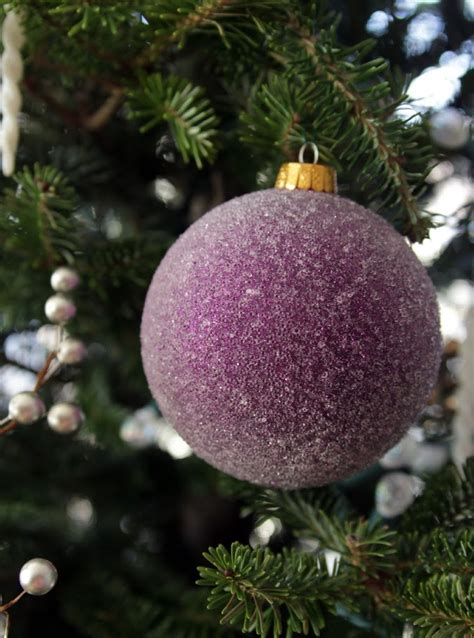 plum color christmas tree decorations a two tree household decor fix