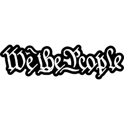 Sticker Quotes For The Wall we the people constitution firearms guns arms 2nd