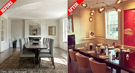 ivanka living room ivanka and jared kushner transformed their dc home daily mail