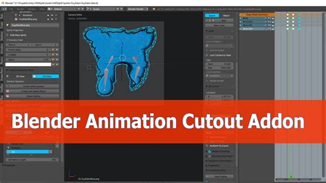 blender tutorial addon blender cutout animation addon tutorial blendernation