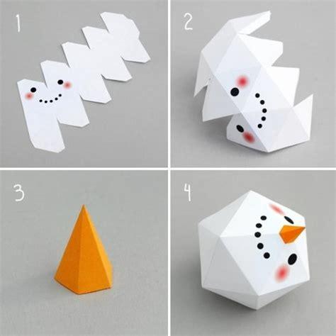 membuat boneka kerajinan tangan kerajinan tangan kertas membuat boneka salju tutorial
