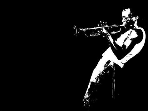 jazz wallpaper black and white jazz trumpet wallpaper free desktop i hd images