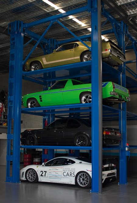 secure car storage cars classic  race storage