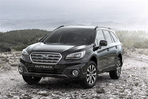 subaru outback black subaru outback gains black ivory special edition model