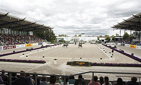 deutsche bank stade aachen s soaring gallery to the of dressage