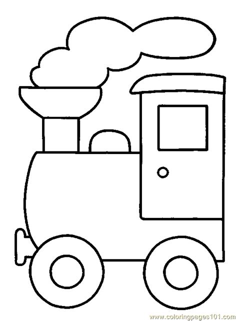 coloring pages train coloring page 06 transport gt land