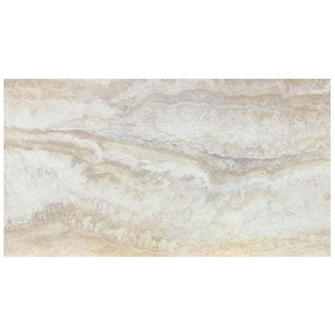 Light Tile Floors by Trafficmaster Light Grey 12 In X 24 In Travertine Peel