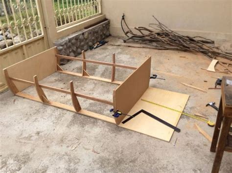 how to build a boat bed how to build a boat bed from scratch 12 pics