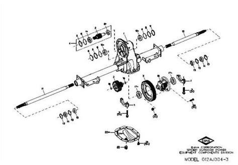 Ez Go Golf Cart Rear End Diagram