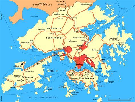 Hong Kong Search Info Chine Hong Kong Carte