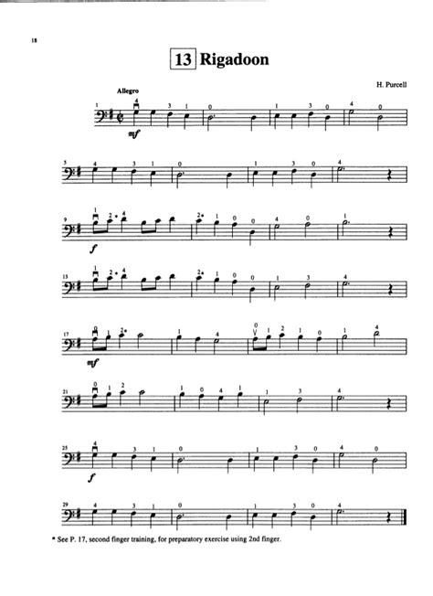 Suzuki Etude Suzuki Cello School Vol 1 Cello Part Piano Accompaniment