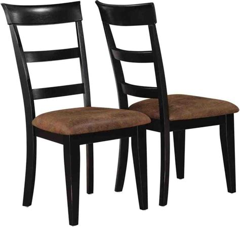 Black Wood Dining Chairs Home Furniture Design Black Dining Chairs