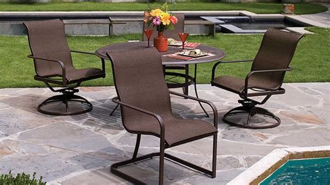 cleaning tips how to keep your patio sling chairs shining
