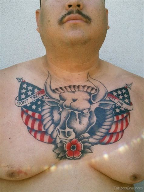 american traditional chest tattoo 57 classic flag tattoos on chest