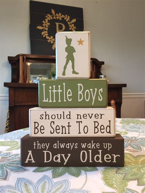 pan nursery boys quote neverland pirate