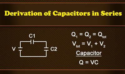 what are the laws governing capacitors in series capacitors in series and parallel ck 12 foundation