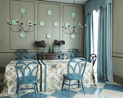 Cook's Blue and Strong White   Interiors By Color