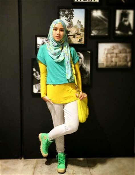 style gaya hijab modern sporty