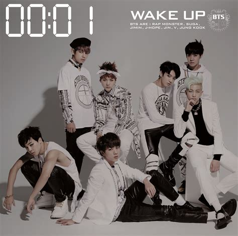bts discography info picture bts 1st japanese album wake up will be